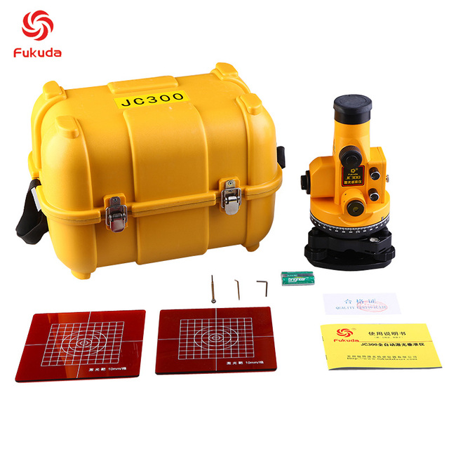 auto level vertical collimator jc300 plumb laser series deflection