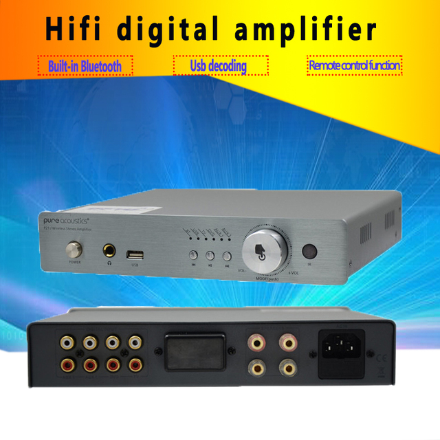 breeze audio P21 Bluetooth Digital Amplifier Fever Audio HIFI Home Computer Desktop Bookshelf Amplifier