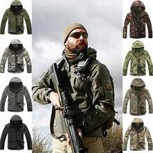 Открытый Спорт Softshell TAD тактические комплекты Для мужчин камуфляж охота одежда армия костюм Отдых Пеший Туризм охотничья куртка или брюки