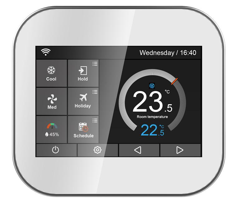 WiFi - 3H/2C, Gas / Electric / Heat Pump / Fossil Fuel /Conventional