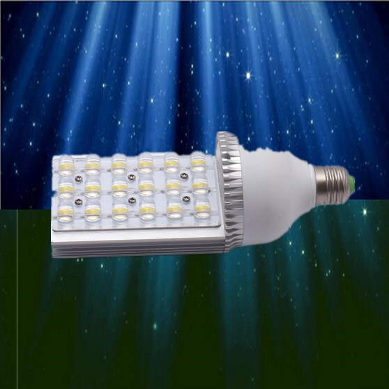 2018 Free Shipping: 1pcs/lot 12w 15w 18w 21w 24w e40 e27 Led Street Light Bulbs 85 To 265v Ac Voltage, Ce And Rohs-certified