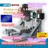 1610 GRBL Control DIY Mini CNC Machine Working Area 160x100x45mm 3 Axis Pcb Milling Machine Wood