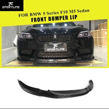 Carbon Fiber / FRP Front Bumper Lip Spoiler Splitters for BMW 5 series F10 M5 Sedan 4-Door 2012 - 2016