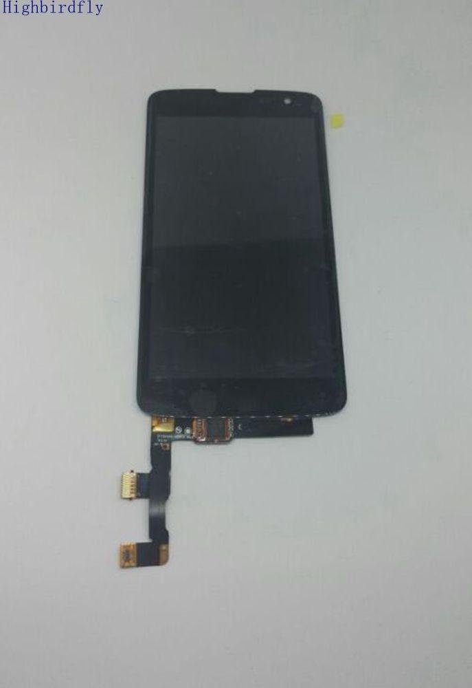 Highbirdfly Pour Lg k7 X210 X210DS Écran lcd + Tactile En Verre Digitizer Assemblée Noir/blanc couleur Remplacement Écran