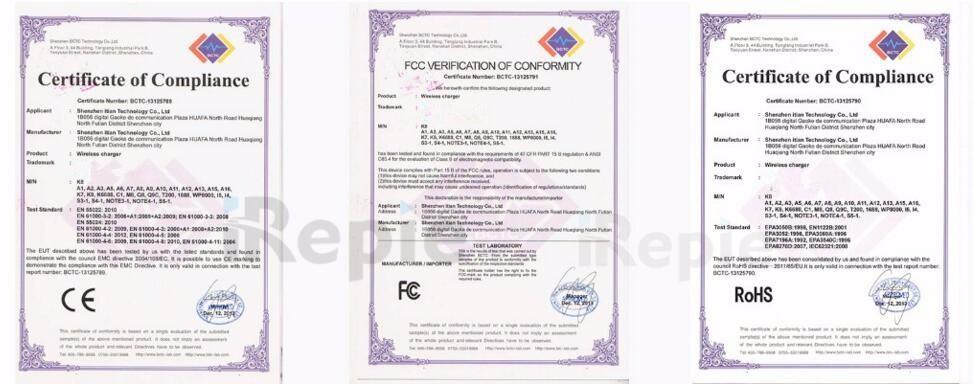 CE FCC ROHS