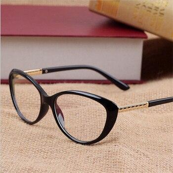 eb53d0a160 KOTTDO Retro gafas de ojo de gato Sexy óptica gafas mujer gafas barato  hombres de marco de gafas de computadora