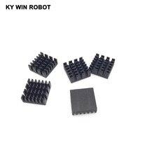 5 шт. +% 2F лот алюминий охлаждение радиатор радиатор 14 x 14 x 6 мм черный набор микросхем RAM радиатор радиатор маршрутизация cat выделенный чип