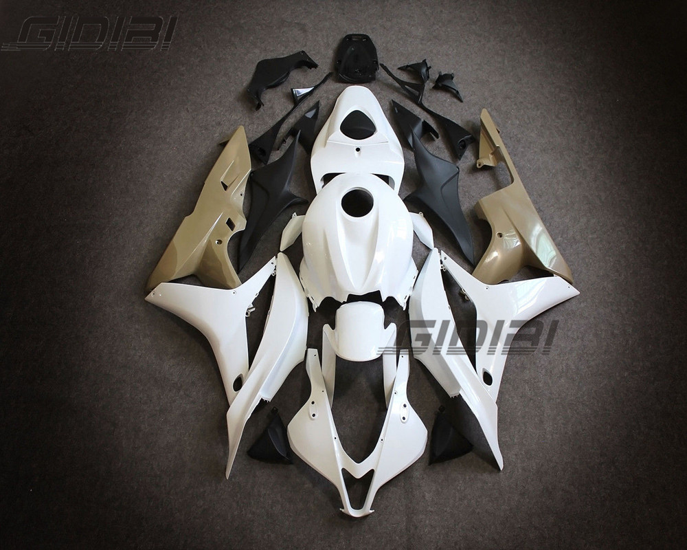 For HONDA CBR600RR CBR600 RR F5 2007 2008 Motorcycle Unpainted Fairing Body Work Cowling ABS 07 08