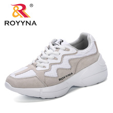 ROYYNA Woman Casual Shoes Breathable 2019 Spring Autumn New Designer Women New Arrivals Fashion Mesh Sneakers Shoes Women Trendy spring women casual shoes 2019 new arrivals fashion fast delivery breathable mesh female shoes women sneakers