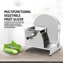 Commercial Multi-function Slicer Manual Vegetable Fruit Cutting Machine Potato Chips Sheet Stainless Steel Round Blade Kitchen stainless steel commercial lemon slicer manual fruit vegetable potato tomato banana slicing machine for tea shop food drying