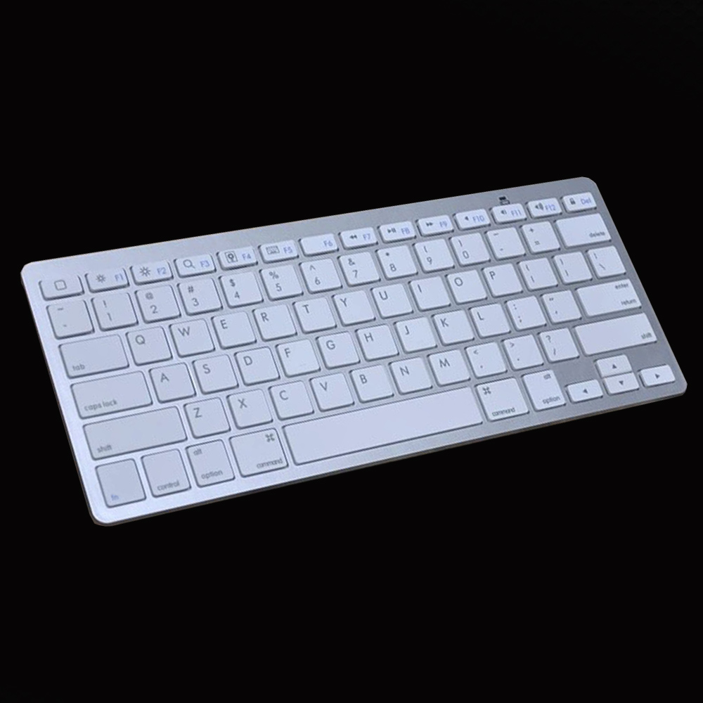 Bluetooth Keyboard For Ipad And Android: Mini Bluetooth Keyboard Ultra Slim Universal Bluetooth Wireless Keyboard For IOS Android PC