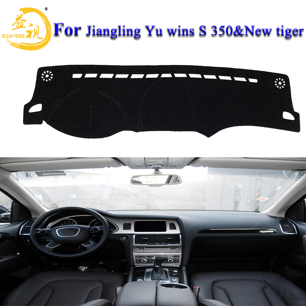 Easysee For Jiangling Yu Wins S 350&new Tiger Cover Dashmat Dash Mat Pad Sun Shade Dash Board Cover Carpet Dust Proof Sun Screen At All Costs Car Anti-dirty Pad