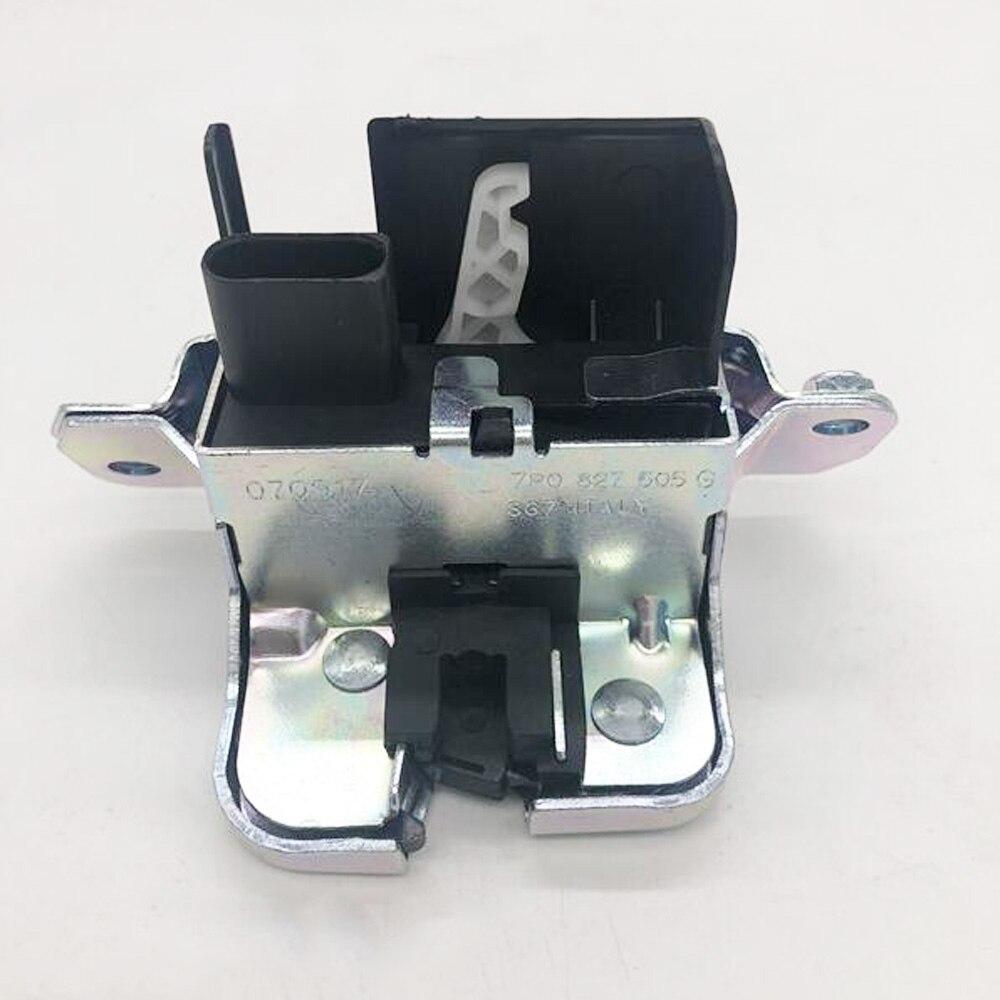 Trunk Boot Lid Liftgate Lock Latch For Vw Sharan 2011-2016 7p0827505g New Arrives Door Lock Pins Auto Accessories New Locks & Hardware