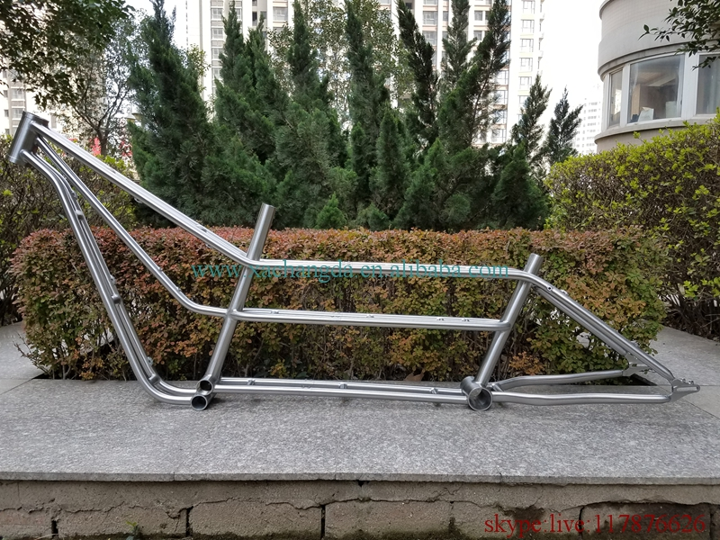 titanium tandem road frame titanium tandem mtb bike frame with open system and integrated head tube and(China)