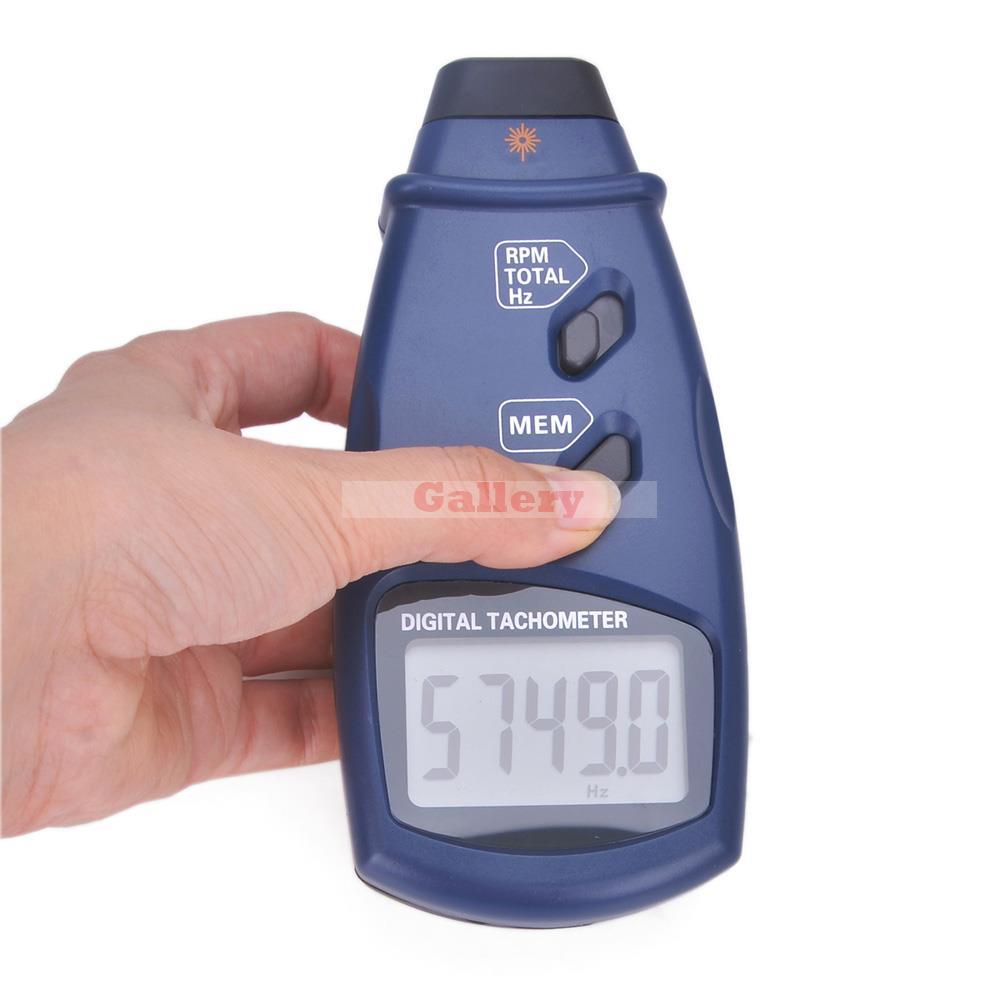Affichage numérique de tachymètre de Photo de Laser affichage à cristaux liquides de gamme automatique outil de compteur de t/mn de Contact Sm6234e affichage d'affichage à cristaux liquides