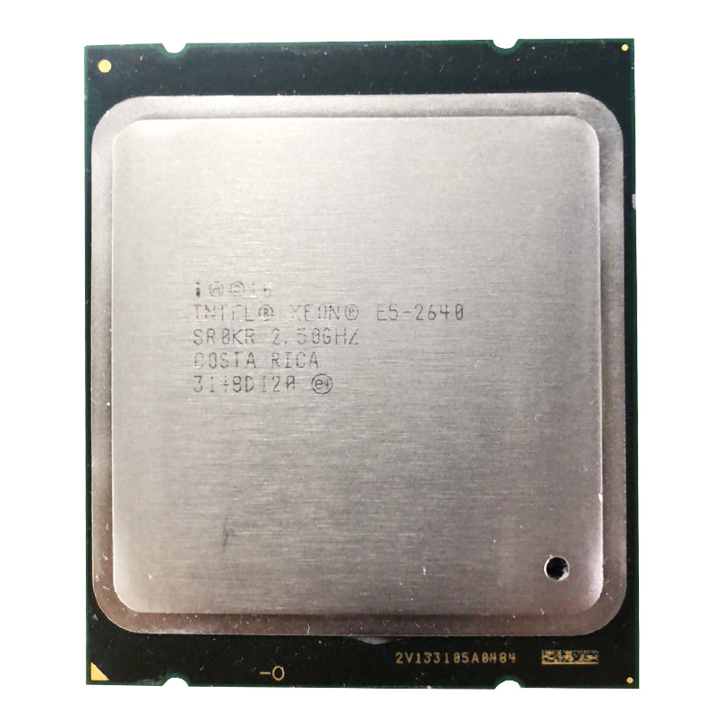 Intel Xeon E5-2640 15M Cache 2.50 GHz 7.20 GT/s Processore CPU