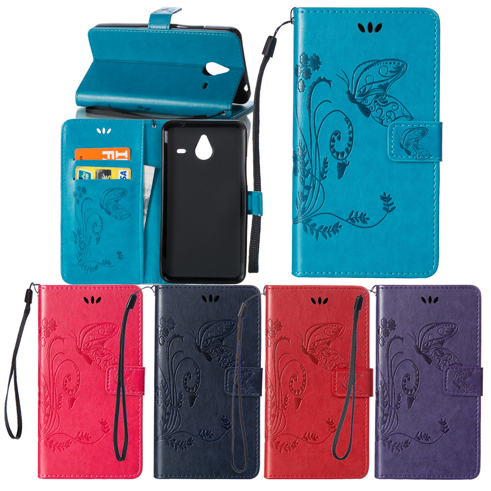 New Embossing PU Leather Wallet Mobile Ps