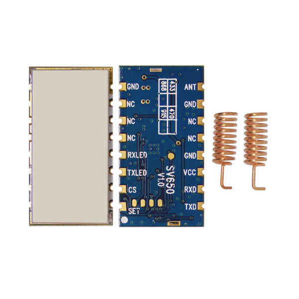 Communication Equipments Fixed Wireless Terminals Uart 433mhz Rf Module Ttl Rs485 Transmitter And Receiver 433mhz 868mhz Transceiver Rs232 Wireless 915mhz Module 100% Guarantee