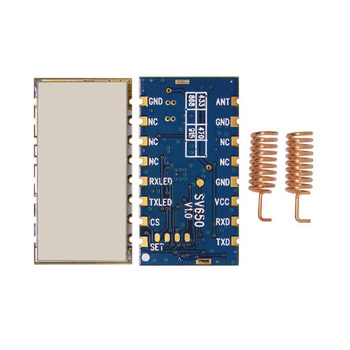 2pcs/lot SV650 - Embedded small size 500mW 3km 868MHz wireless transceiver module TTL | RS485 RF data transmitter module