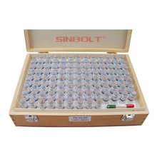 Sinbolt pin Gauge Set ,Plug Set,1.000mm--1.990mm,100pcs+Pin Handlefast delivery!