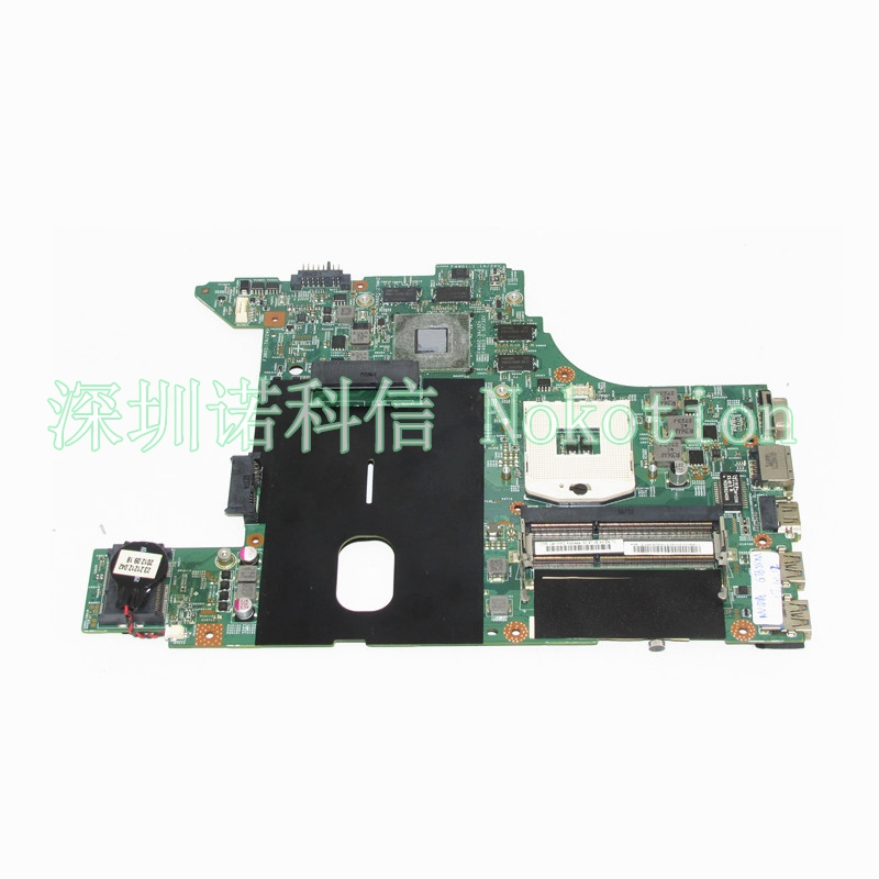 NOKOTION 11S90002004 48.4TD07.01M laptop motherboard For lenovo Ideapad B490 HM76 GT635M graphics DDR3L Mainboard Full WORKS wholesale cms vesd new visual electronic stethoscope with ecg pr vet spo2 pc software and review data adult probe