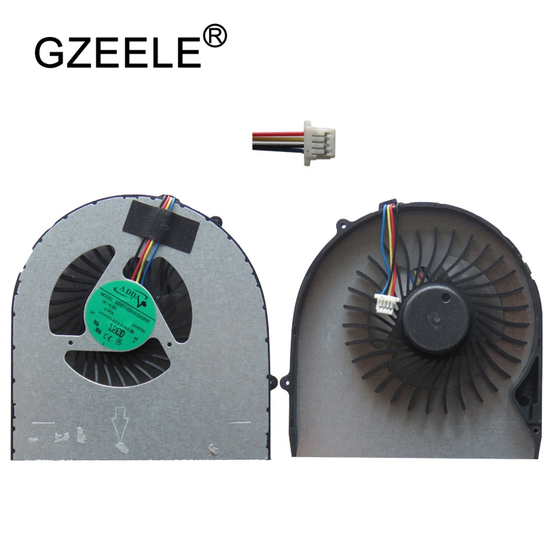 GZEELE NEW Laptop CPU Cooling Fan cooler FIT For LENOVO Ideapad B570 B575 B575E B570E V570 Z570 V570A Z575 fans 5V 0.45A Cooler new laptops replacement cpu cooling fans fit for ibm lenovo r61 r61i r61e mcf 219pam05 42w2779 42w2780 notebook cooler fan p20