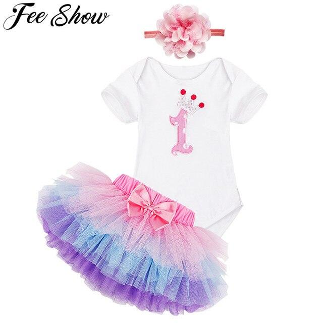 e4053f86710089 Bebé recién nacido bebé niña Vestido verano marca niños ropa niñas 1 año  Vestido de fiesta