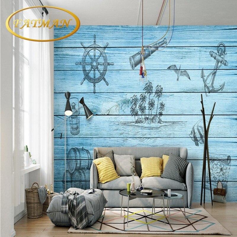 Fototapete Mediterranen stil Nordic hintergrund wanddekoration ...