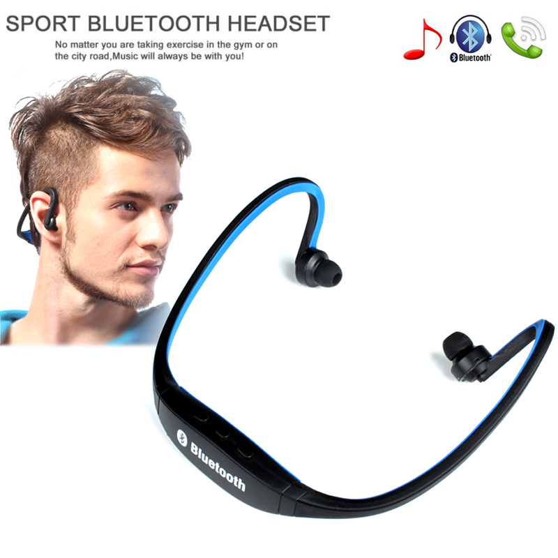 Hot Sports <font><b>Bluetooth</b></font> Earphone <font><b>S9</b></font> Wirless Handfree Auriculares <font><b>Bluetooth</b></font> Headphones MIC For iphone Huawei XiaoMi Mobile Phone image