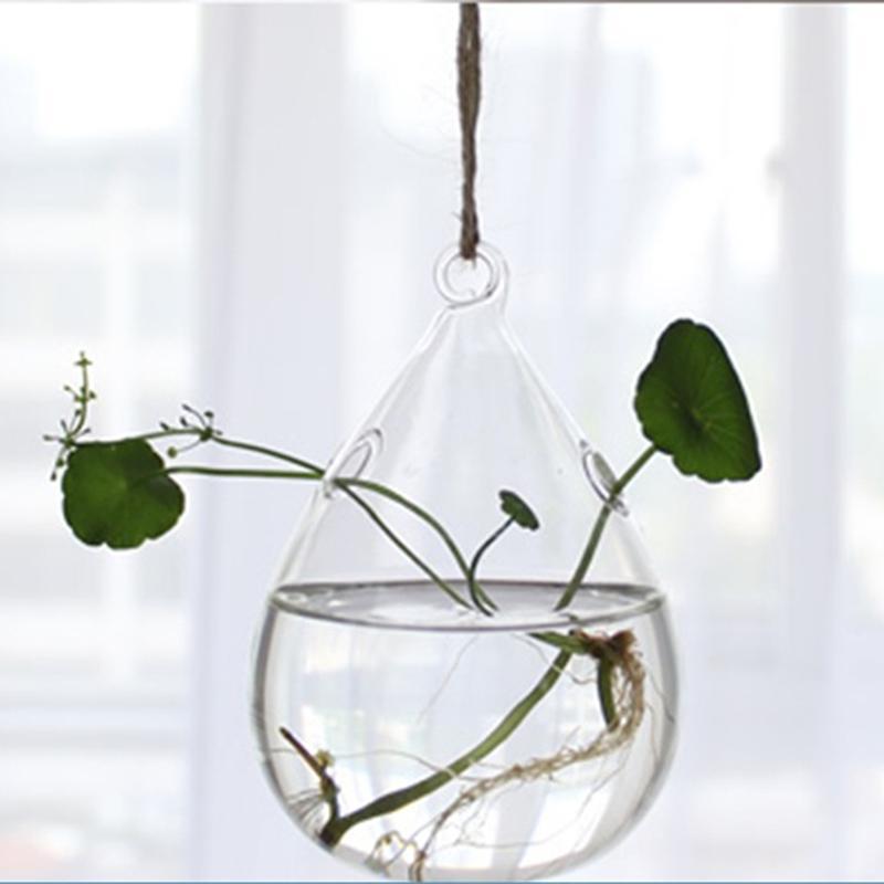 Ни висит прозрачный стеклянный шар завод террариумы суккуленты мох миниатюрный садовые кадки домашний декор подарки