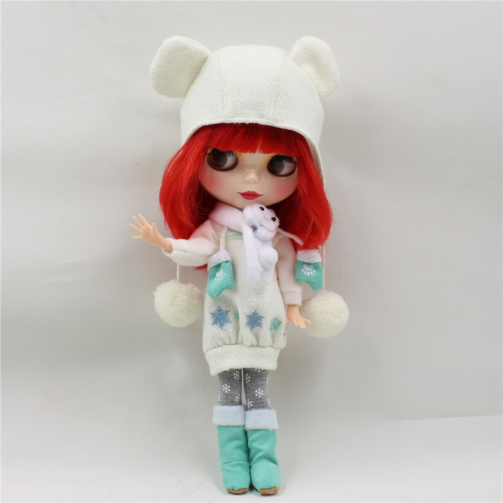 Neo Blythe Doll Winter Outfit Set 3