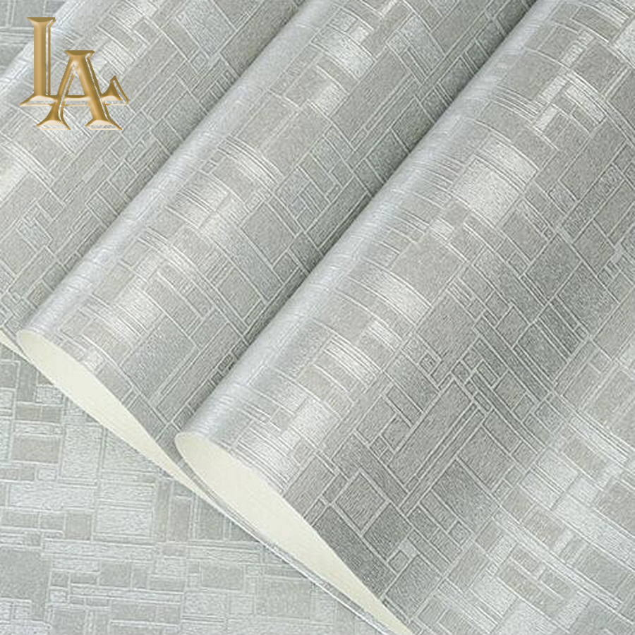 High Quality Modern Minimalist Textured Mosaic 3D Wallpaper Vinyl Waterproof Embossed Solid Color PVC Wall paper Rolls W318