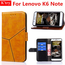 Case For Lenovo K6 Note PU Leather Phone Case Ultra Thin Wallet Flip Cover For Lenovo K6 Note Phone Bag Skin Fundas