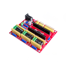 Cnc Shield V4 Graveermachine Compatibel Met Nano 3.0 / A4988 Voor De 3D Printer