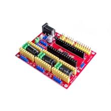 Tarcza cnc v4 grawerowanie maszyny kompatybilny z Nano 3.0 / A4988 dla drukarki 3D