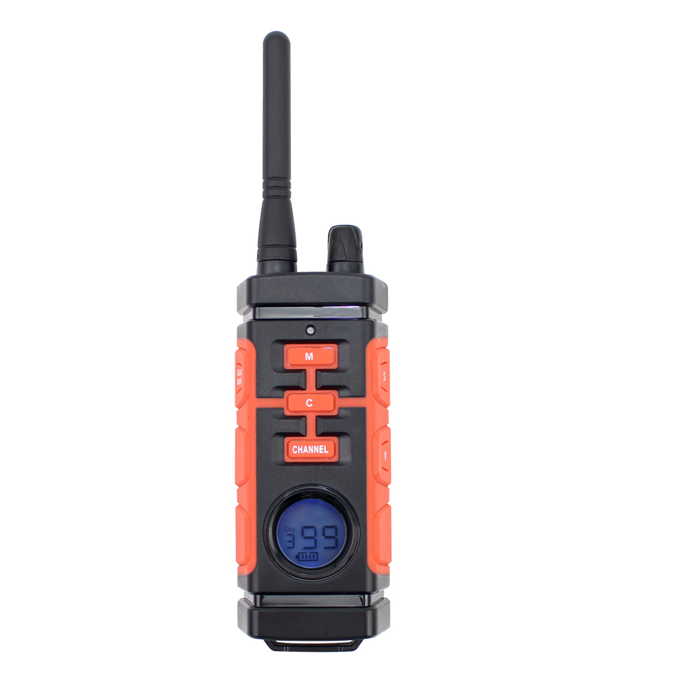 Ipets 616 1 800 M สุนัขฝึกอบรมระยะไกล Collar ชาร์จและกันน้ำ Vibration Shock Collar สุนัข-ใน ปลอกคอสำหรับฝึก จาก บ้านและสวน บน   2
