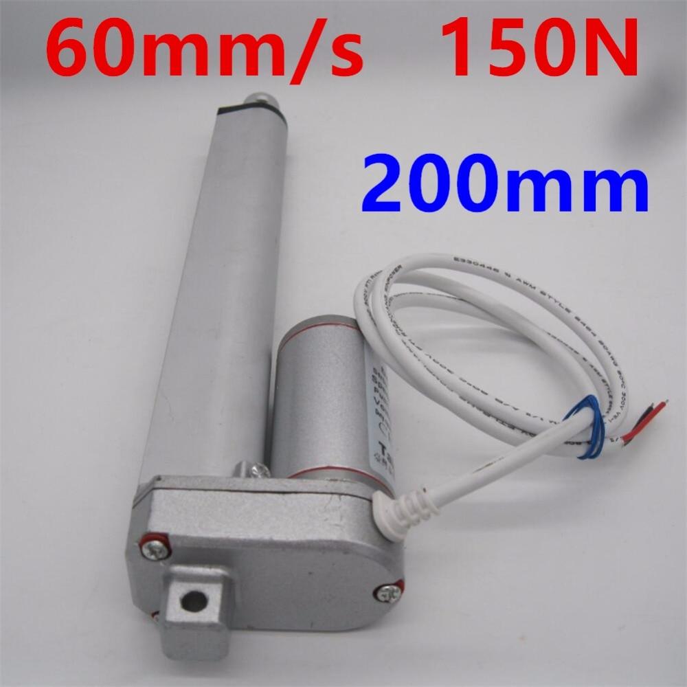 1~20PCS 50MM 100MM 200MM Stroke Linear Actuator Pound Max Lift 12V DC Motor LOT