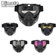 Modular Mask Detachable Goggles