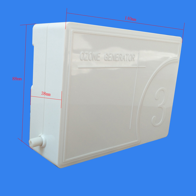 2019 Portable Home Ozone Air Water Ozone Sterilizer Deodorizer Portable Ozonator Device Ozone Refreshener 110V