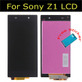 100% Guarantee For Sony For Xperia Z1 L39h L39 LCD Screen With Touch Screen Digitizer Assembly Free Shipping