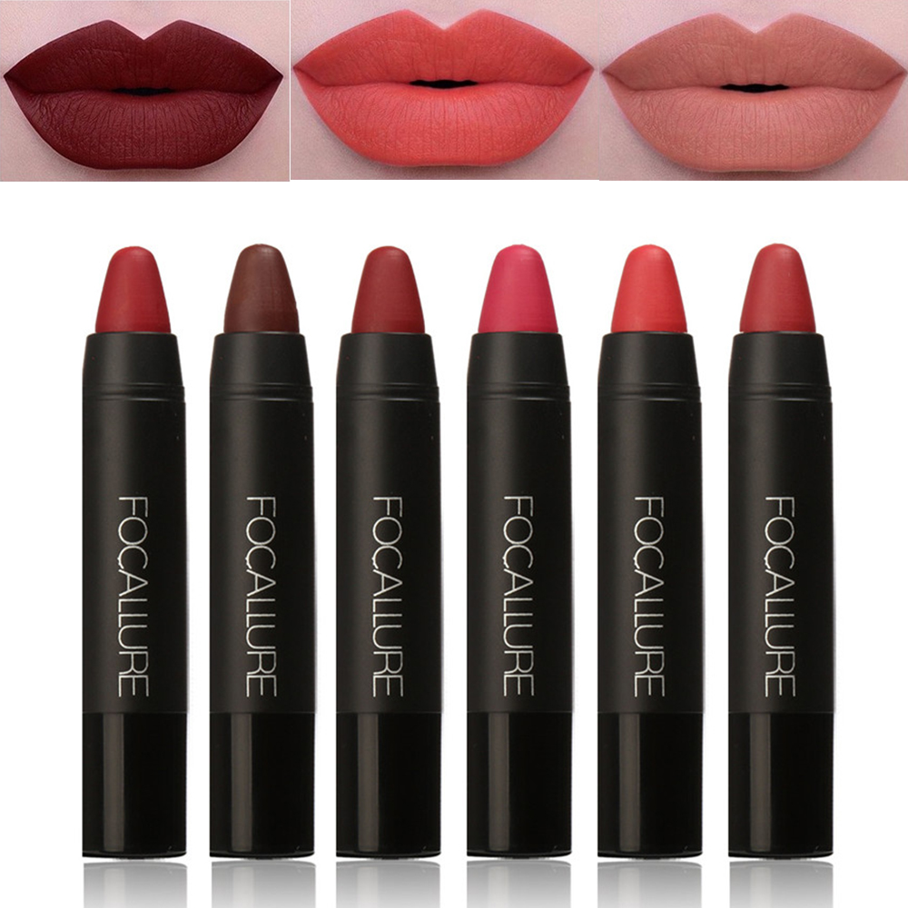 Focallure 19 Colors Sexy Lipstick Waterproof Long Lasting -5677