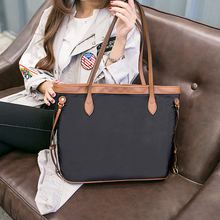 The New Handbag One Shoulder Big Capacity Totes Female Bag  Shopping Bag Leisure Simple Student Mummy Bag Oxford  Waterproof Bag new style one shoulder bag leisure fashion nylon one shoulder women s leisure bag portable waterproof one shoulder bag tourism o