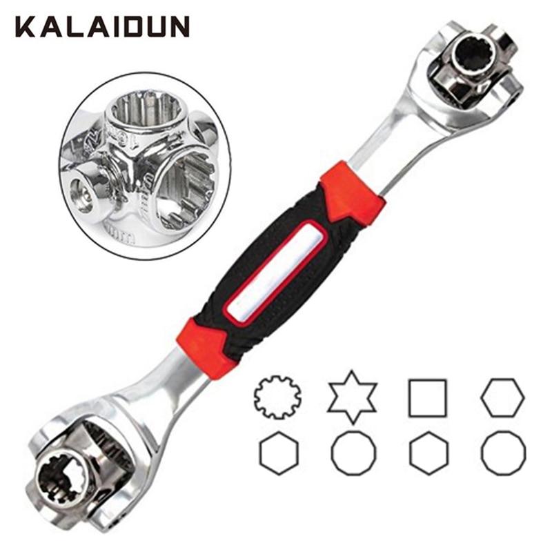 Conjunto de Chaves Chave Universal Chave de Torque Catraca KALAIDUN Multitul 48 Em 1 Ferramentas Manuais Chave Spline Parafusos Torx Carro Mobiliário reparação