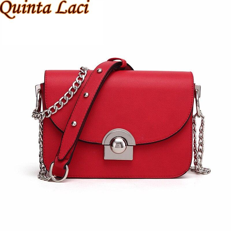 Quinta Laci Women Bag 2017 New Fashion women small handbag Korean fashion all-match chain bag shoulder bags