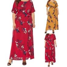 2019 MAXIORILL New платье Fashion Women Sexy Plus Size