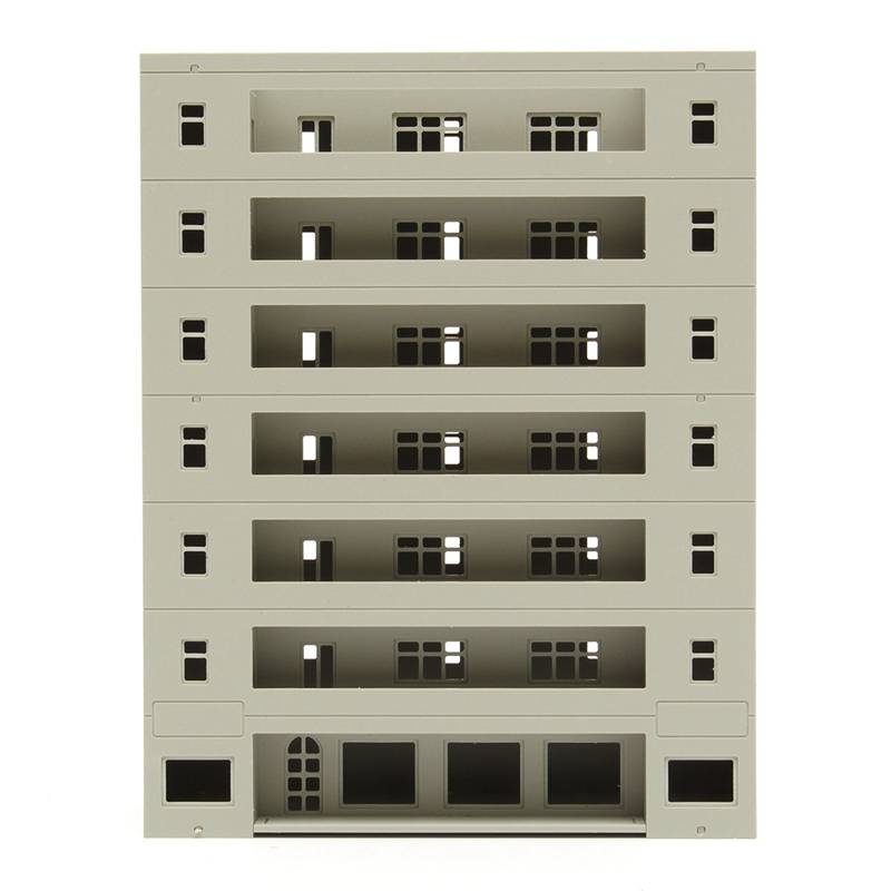 Modern Scale 1 160 Grey Miniatures Models Modern Building