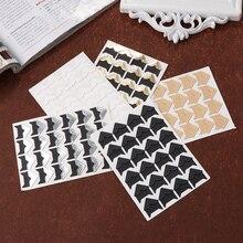 72 шт. фотоальбом скрапбук фото уголок протекторы DIY ручной работы наклейки декор для скрапбукинга