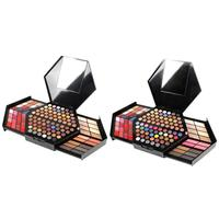 130 Color Multi Function Hexagonal Full Eye Shadow High Gloss Concealer Red