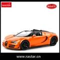 Bugatti 1:14 Rastar licensed bateria operado brinquedos Mini Carro de Controle Remoto rc carro deriva do veículo Atacado 70400