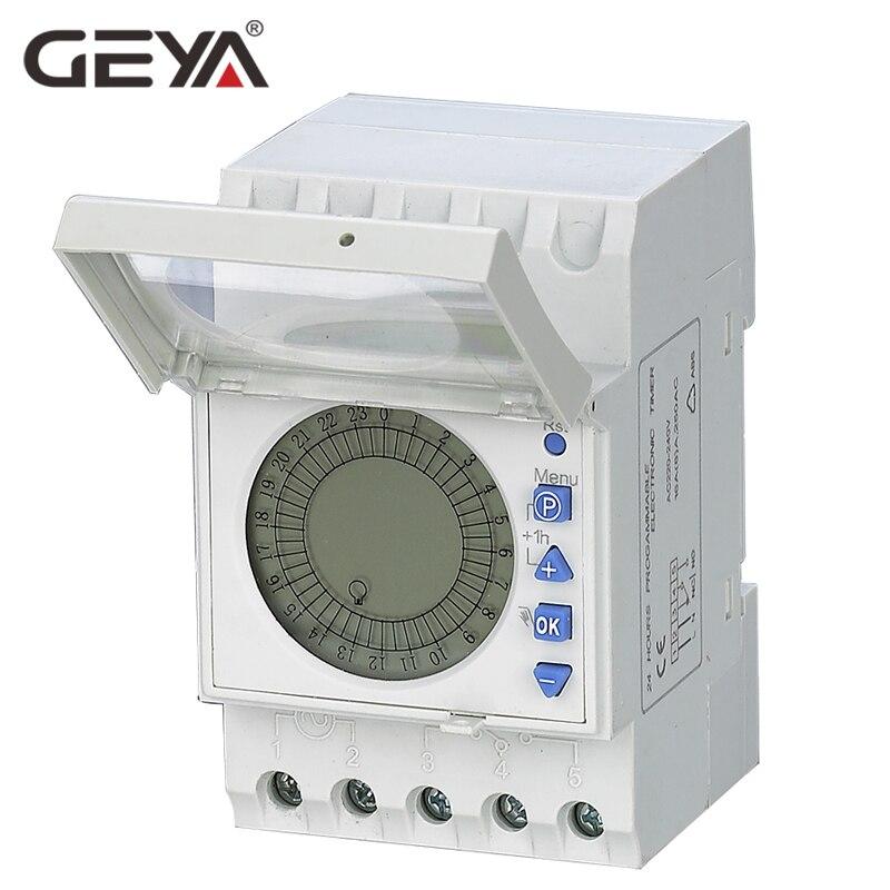 GEYA THC20 Numérique Électronique À Usage Général avec des Programmes Quotidiens Dernière technologie COMS quartz Mico-contrôleur